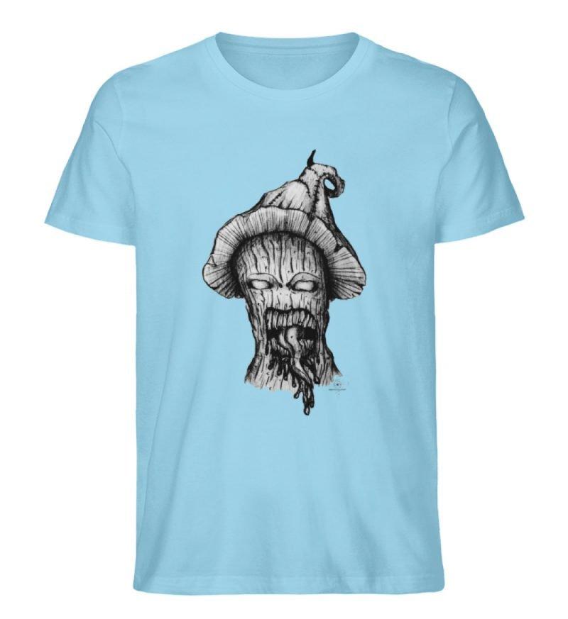 """Infected mushroom"" von Third Eye Collec - Herren Premium Organic Shirt-674"