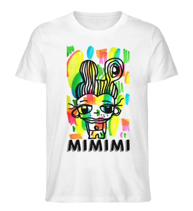 """""""MIMIMI"""" von Susanne Beucher - Herren Premium Organic Shirt-3"""