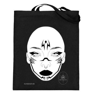 """""""o.T."""" von Third Eye Collective - Jutebeutel (mit langen Henkeln)-16"""
