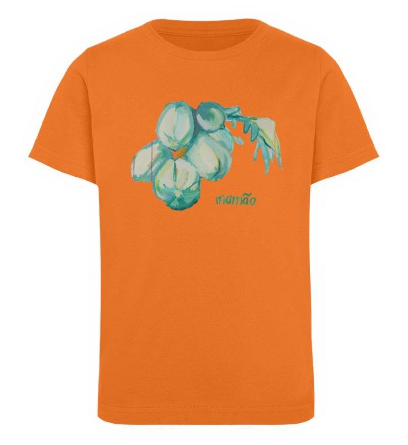 """""""mamão"""" von Alrun Prünster Soares - Kinder Organic T-Shirt-6882"""