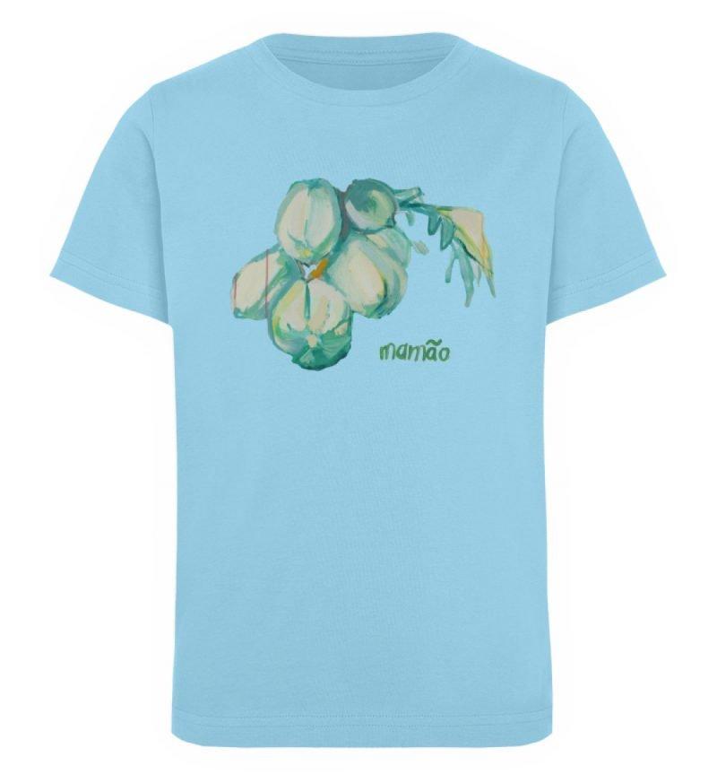 """""""mamão"""" von Alrun Prünster Soares - Kinder Organic T-Shirt-674"""