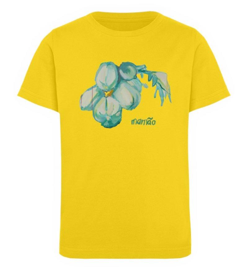 """""""mamão"""" von Alrun Prünster Soares - Kinder Organic T-Shirt-6885"""