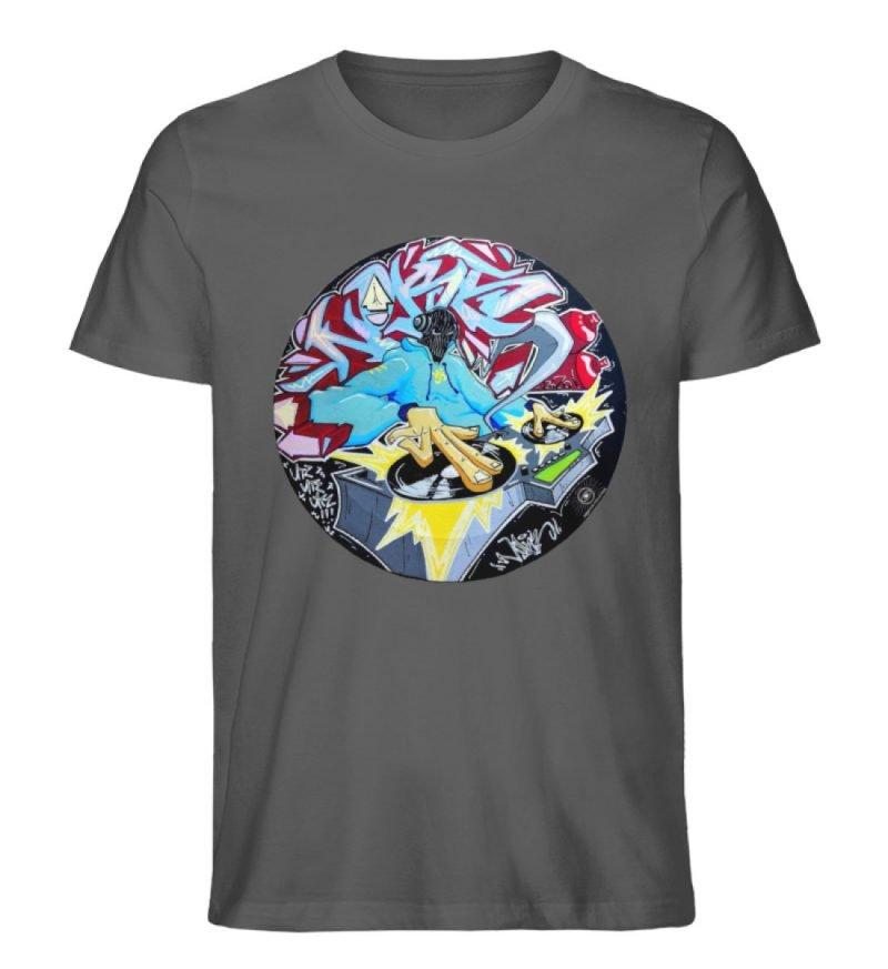 """""""Noks auf Platte"""" von Third Eye Collecti - Herren Premium Organic Shirt-6903"""