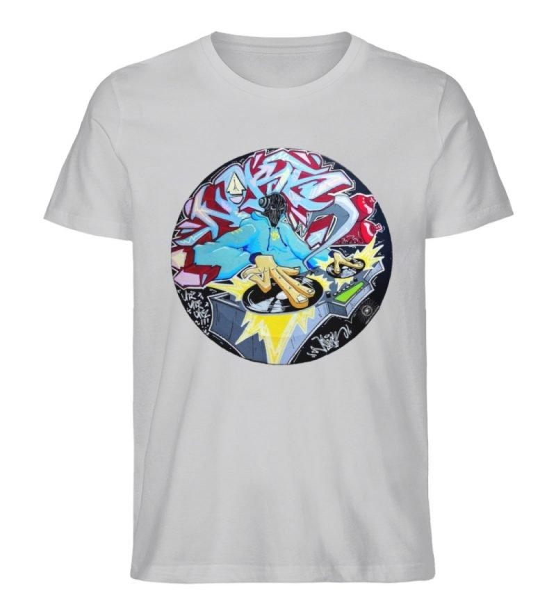 """""""Noks auf Platte"""" von Third Eye Collecti - Herren Premium Organic Shirt-17"""