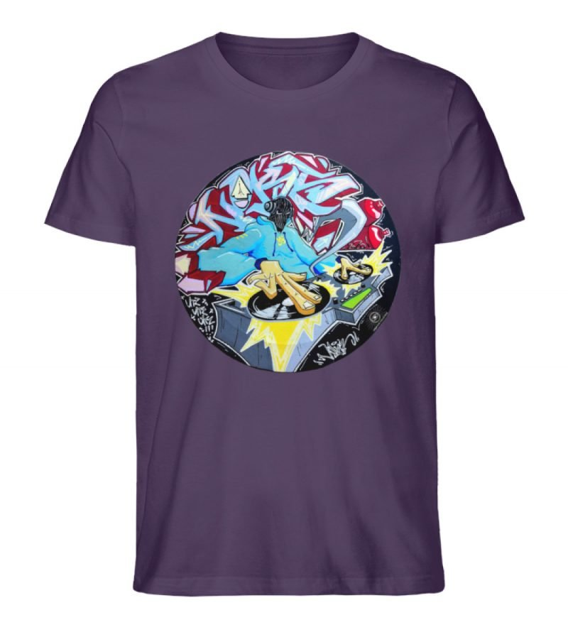 """""""Noks auf Platte"""" von Third Eye Collecti - Herren Premium Organic Shirt-6876"""