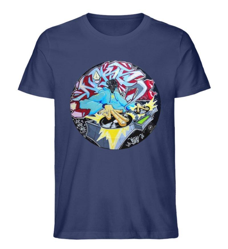 """""""Noks auf Platte"""" von Third Eye Collecti - Herren Premium Organic Shirt-6057"""