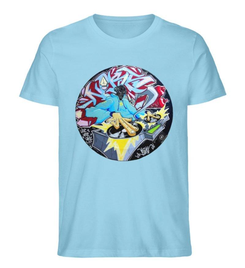 """""""Noks auf Platte"""" von Third Eye Collecti - Herren Premium Organic Shirt-674"""
