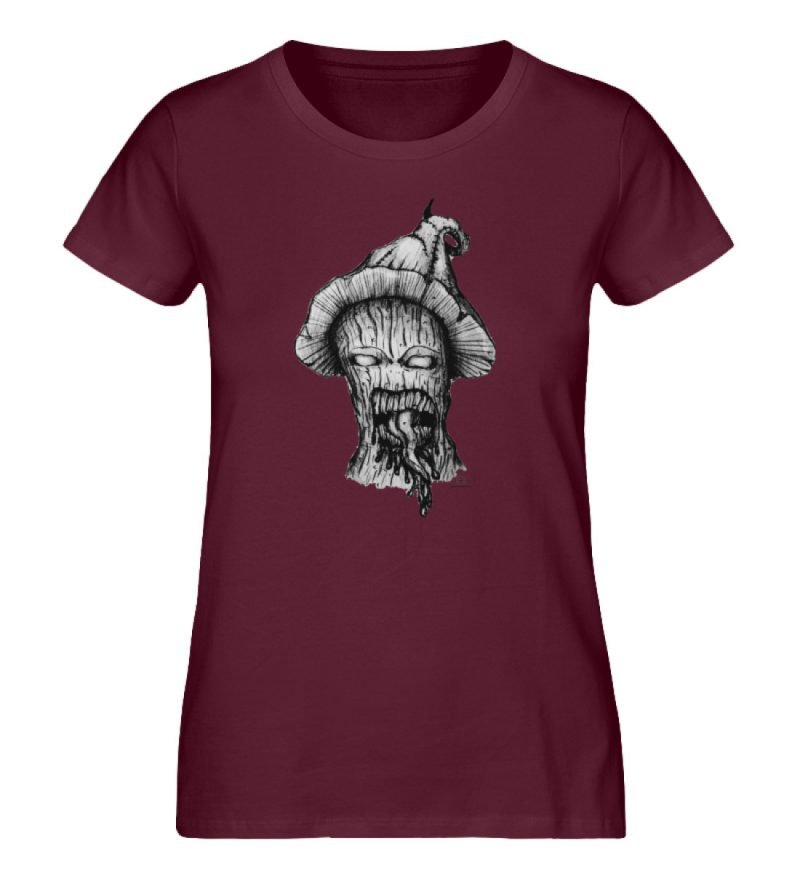"""Infected mushroom"" von Third Eye Collec - Damen Premium Organic Shirt-839"