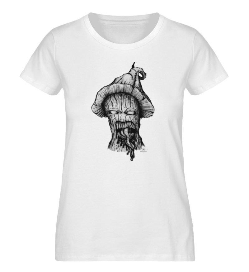 """Infected mushroom"" von Third Eye Collec - Damen Premium Organic Shirt-3"