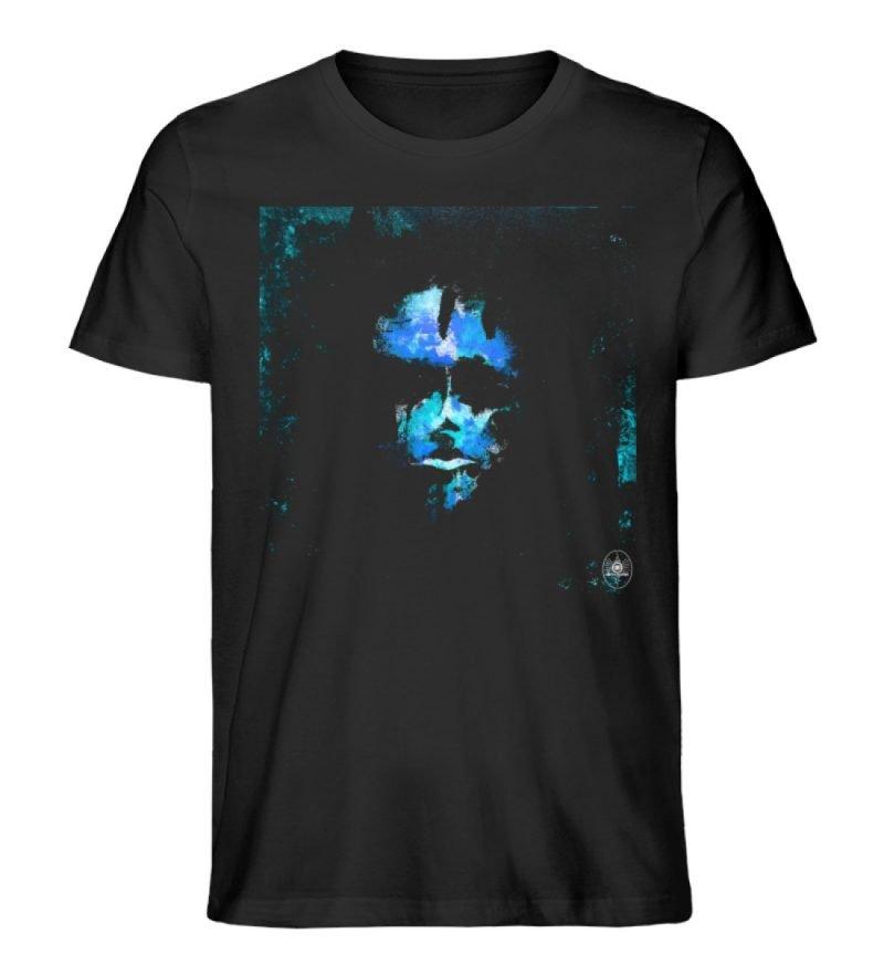 """""""Deep Blue"""" von Third Eye Collective - Herren Premium Organic Shirt-16"""