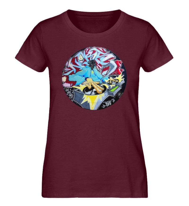 """""""Noks auf Platte"""" von Third Eye Collecti - Damen Premium Organic Shirt-839"""