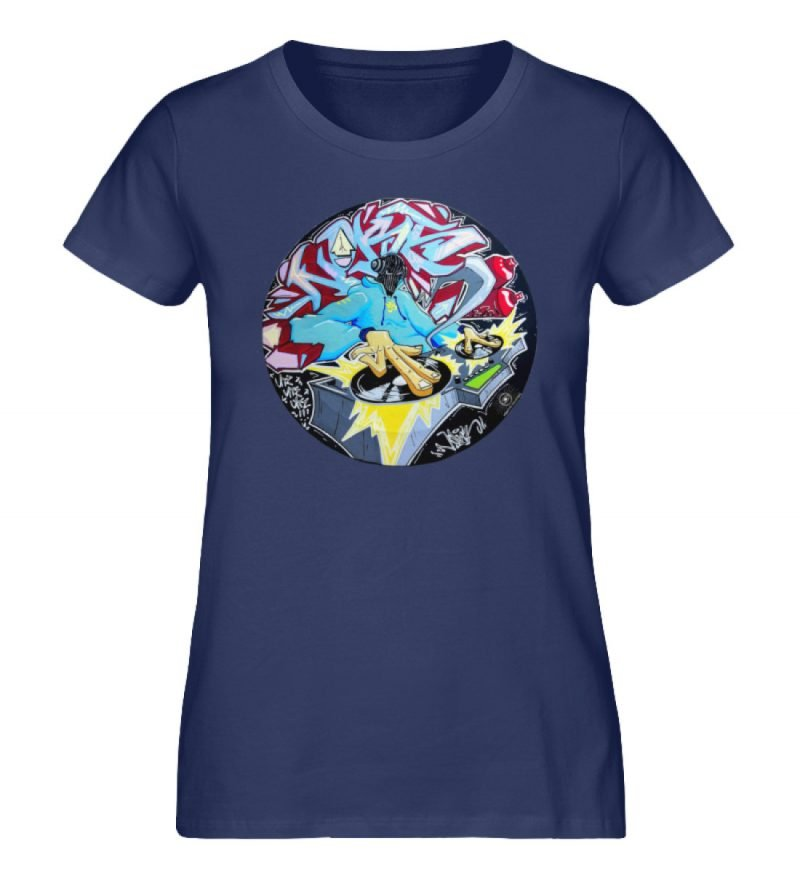 """""""Noks auf Platte"""" von Third Eye Collecti - Damen Premium Organic Shirt-6057"""