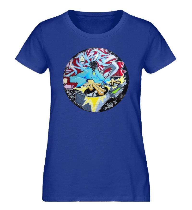 """""""Noks auf Platte"""" von Third Eye Collecti - Damen Premium Organic Shirt-668"""