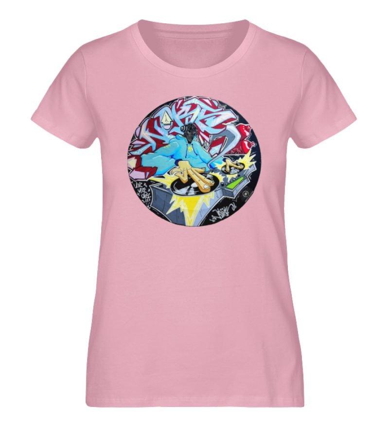 """""""Noks auf Platte"""" von Third Eye Collecti - Damen Premium Organic Shirt-6883"""