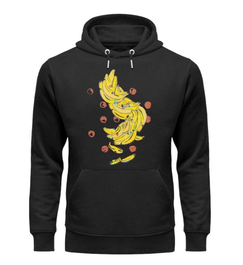 """""""Bananas"""" von Alrun Prünster Soares - Unisex Organic Hoodie-16"""