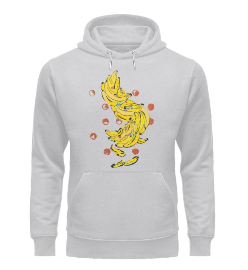 """""""Bananas"""" von Alrun Prünster Soares - Unisex Organic Hoodie-17"""
