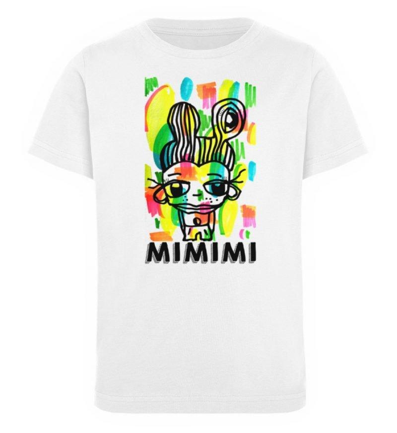 """""""MIMIMI"""" von Susanne Beucher - Kinder Organic T-Shirt-3"""