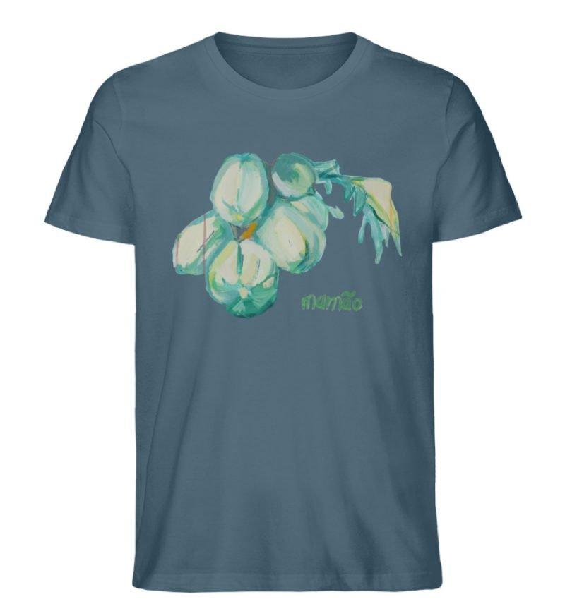 """""""mamão"""" von Alrun Prünster Soares - Herren Premium Organic Shirt-6880"""