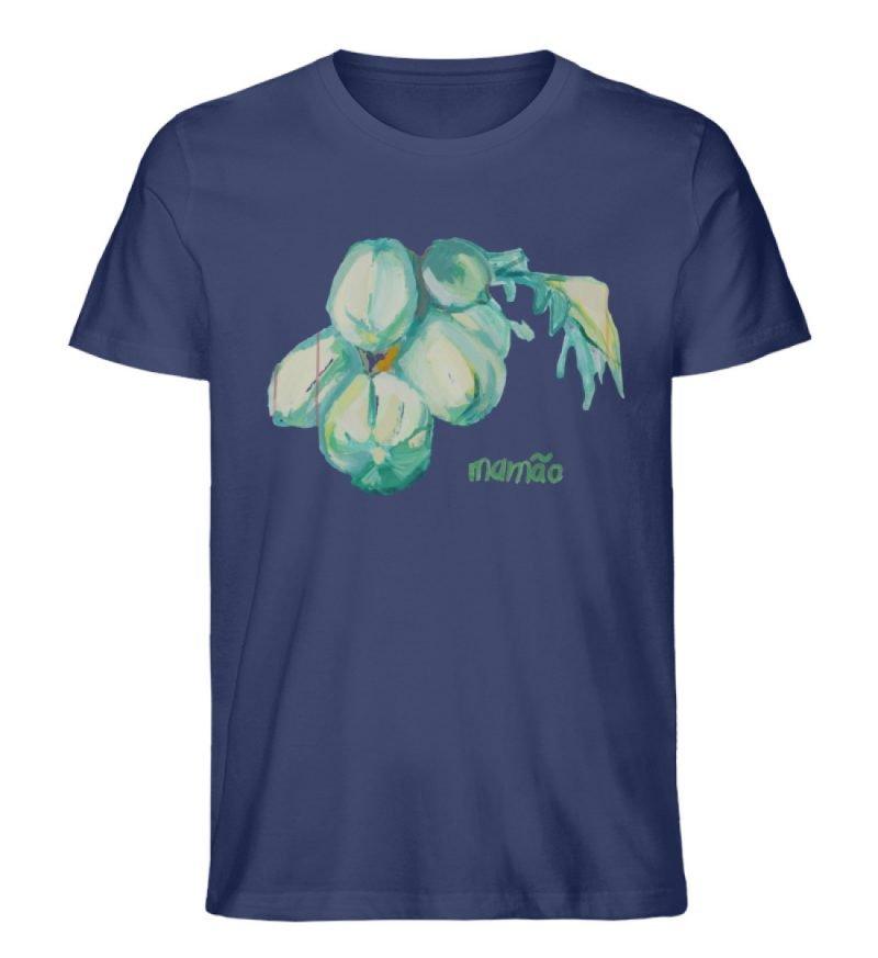 """""""mamão"""" von Alrun Prünster Soares - Herren Premium Organic Shirt-6057"""