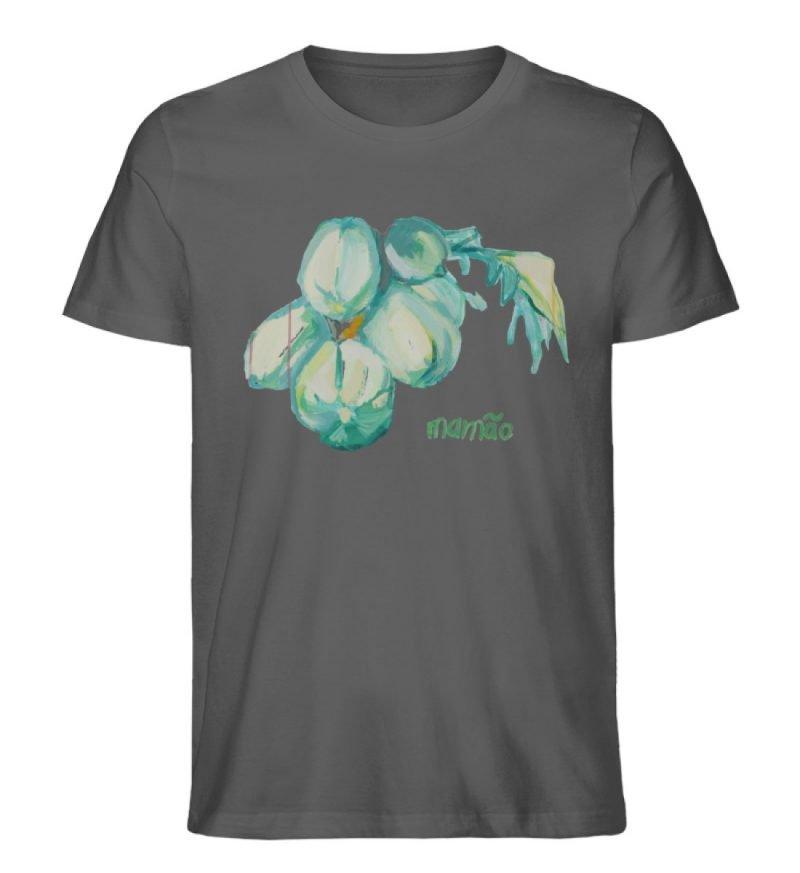 """""""mamão"""" von Alrun Prünster Soares - Herren Premium Organic Shirt-6903"""