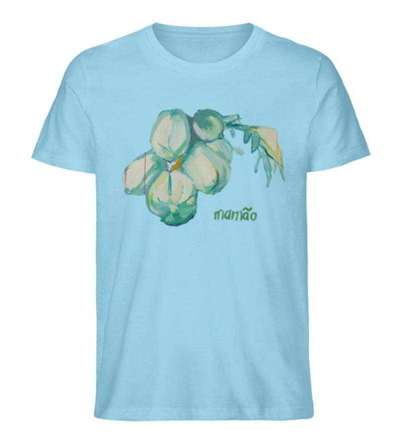 """""""mamão"""" von Alrun Prünster Soares - Herren Premium Organic Shirt-674"""