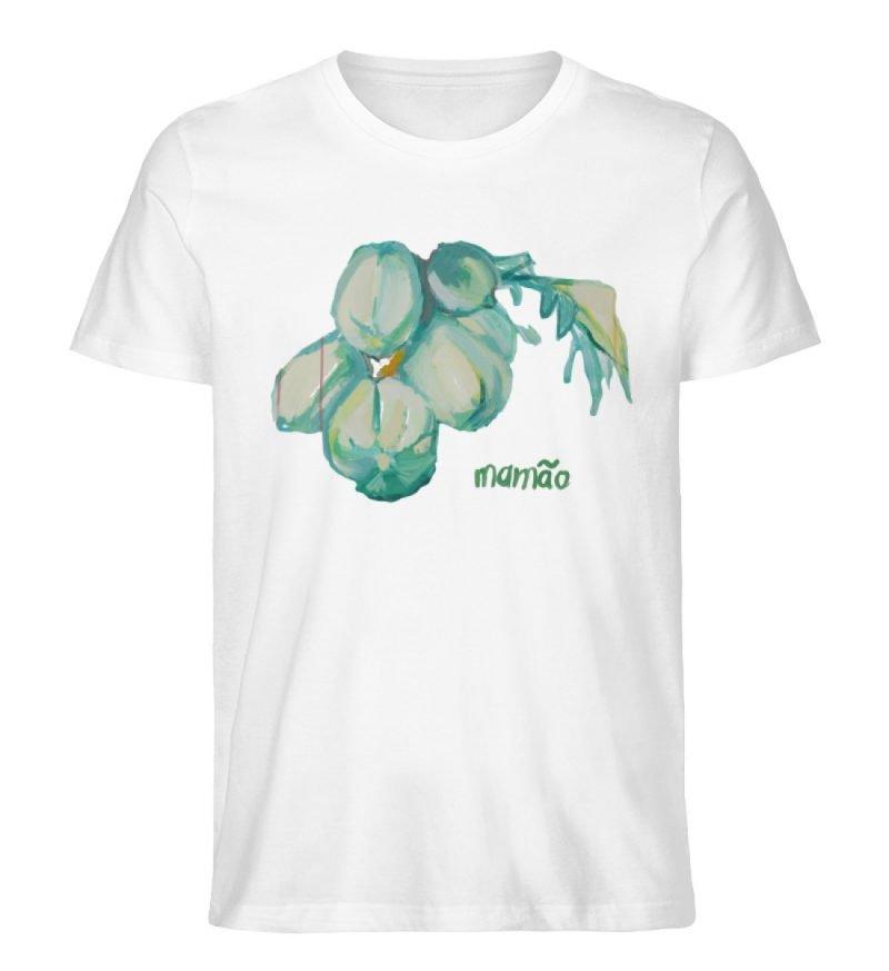 """""""mamão"""" von Alrun Prünster Soares - Herren Premium Organic Shirt-3"""