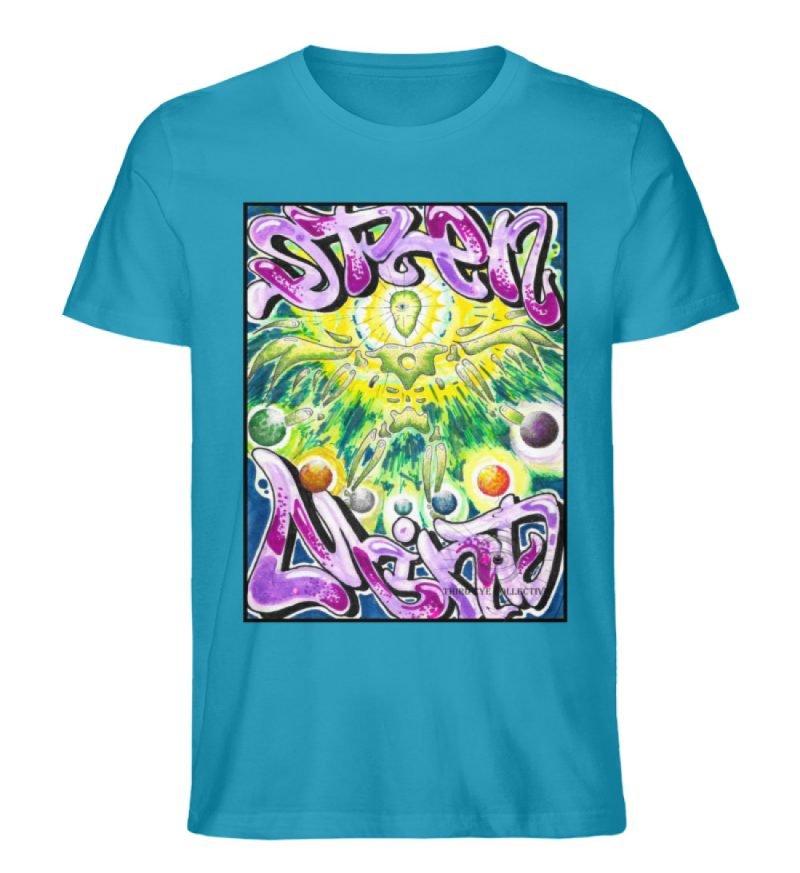 """""""Open Mind"""" von Third Eye Collective - Herren Premium Organic Shirt-6877"""