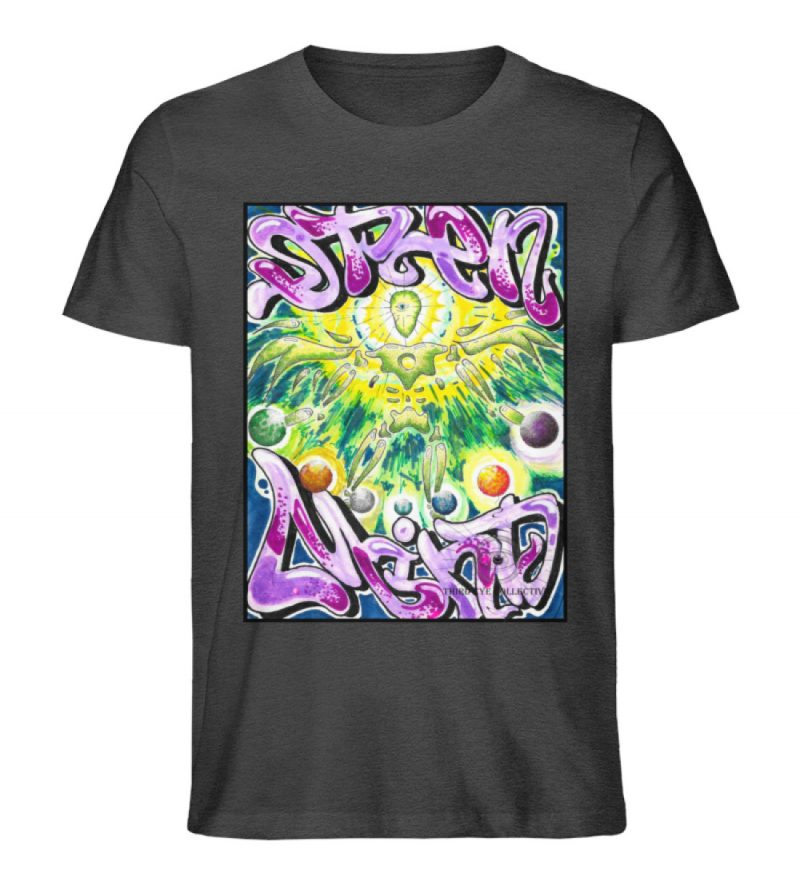 """""""Open Mind"""" von Third Eye Collective - Herren Premium Organic Shirt-6881"""