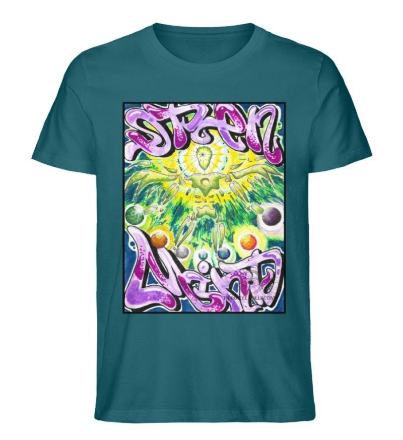"""""""Open Mind"""" von Third Eye Collective - Herren Premium Organic Shirt-6878"""