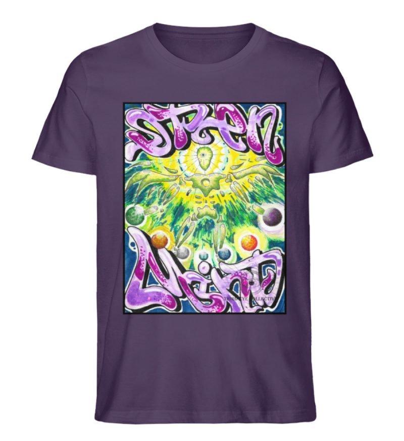 """""""Open Mind"""" von Third Eye Collective - Herren Premium Organic Shirt-6876"""