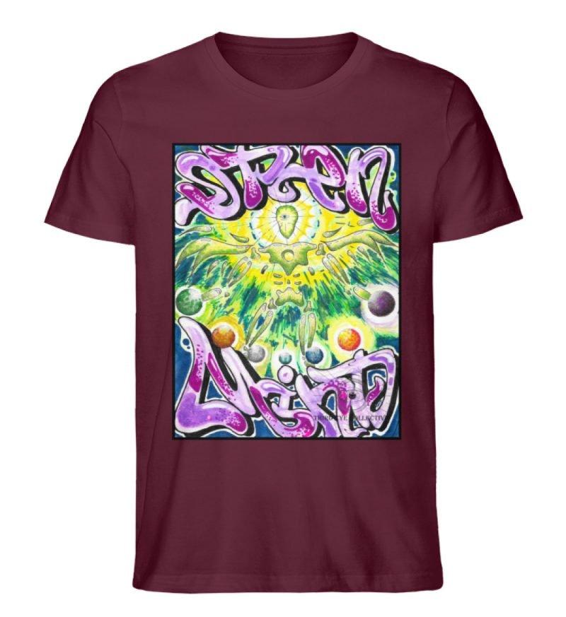"""""""Open Mind"""" von Third Eye Collective - Herren Premium Organic Shirt-839"""