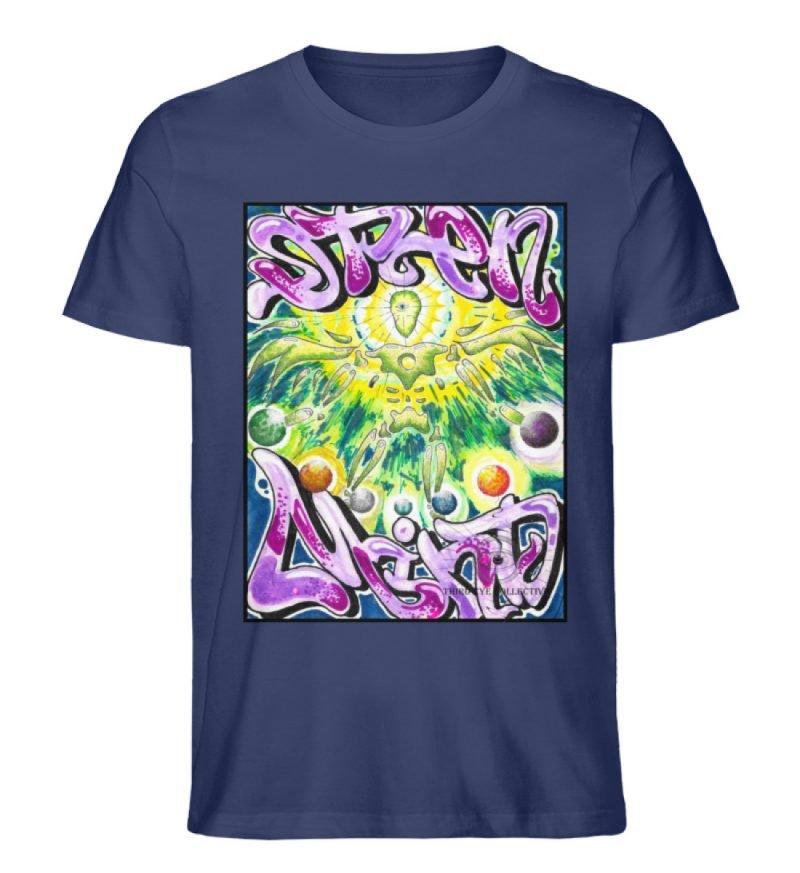 """""""Open Mind"""" von Third Eye Collective - Herren Premium Organic Shirt-6057"""