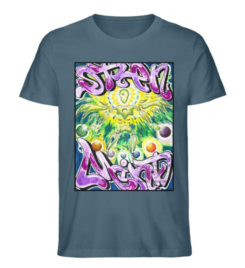 """""""Open Mind"""" von Third Eye Collective - Herren Premium Organic Shirt-6880"""