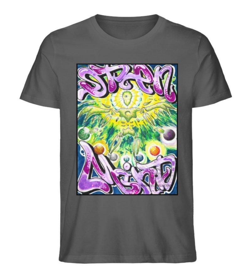 """""""Open Mind"""" von Third Eye Collective - Herren Premium Organic Shirt-6903"""