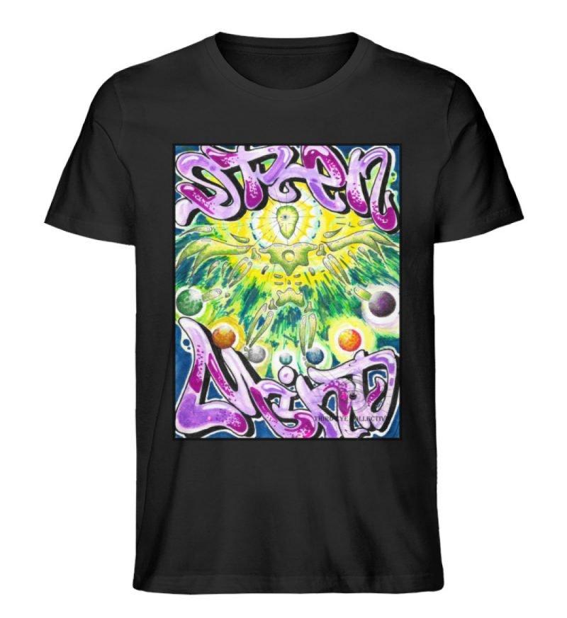 """""""Open Mind"""" von Third Eye Collective - Herren Premium Organic Shirt-16"""
