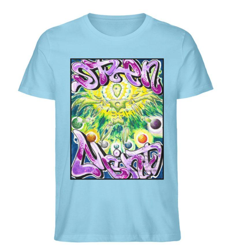 """""""Open Mind"""" von Third Eye Collective - Herren Premium Organic Shirt-674"""