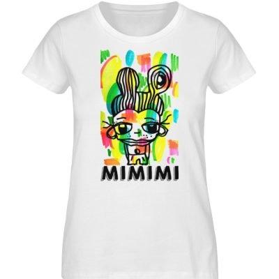 """""""MIMIMI"""" von Susanne Beucher - Damen Premium Organic Shirt-3"""
