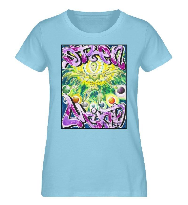 """""""Open Mind"""" von Third Eye Collective - Damen Premium Organic Shirt-674"""