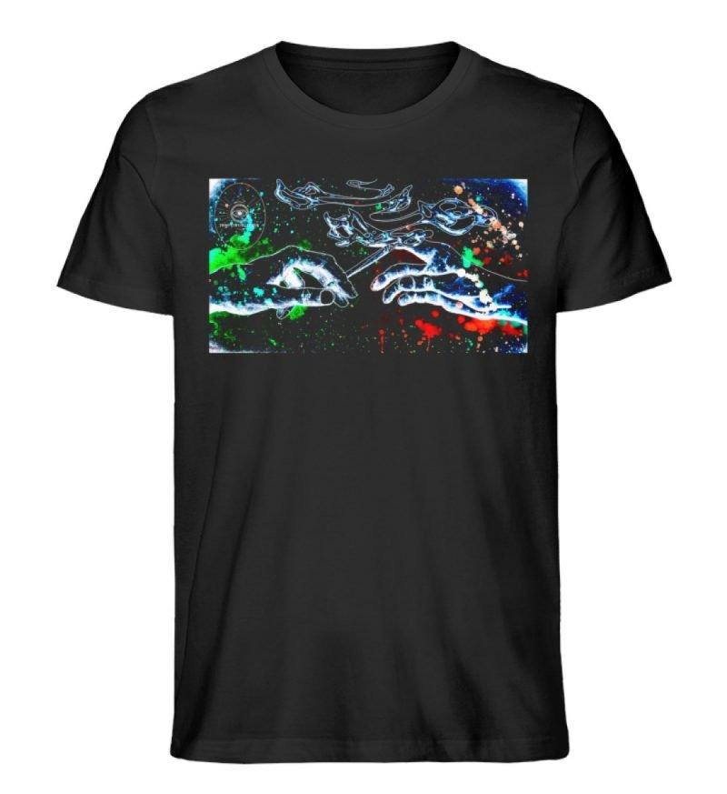 """""""paff paff pass"""" von Third Eye Collectiv - Herren Premium Organic Shirt-16"""
