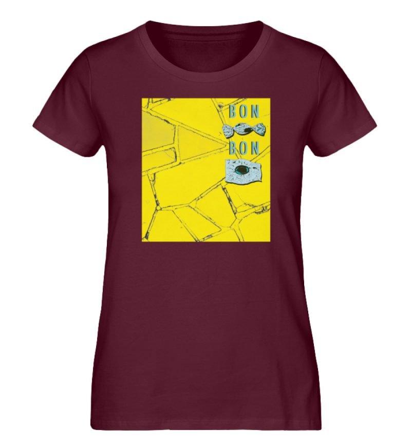 """Bon Bon"" von Lili Aschoff - Damen Premium Organic Shirt-839"