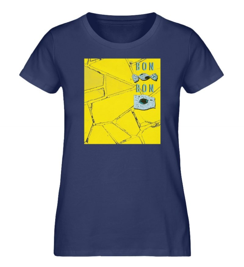 """Bon Bon"" von Lili Aschoff - Damen Premium Organic Shirt-6057"
