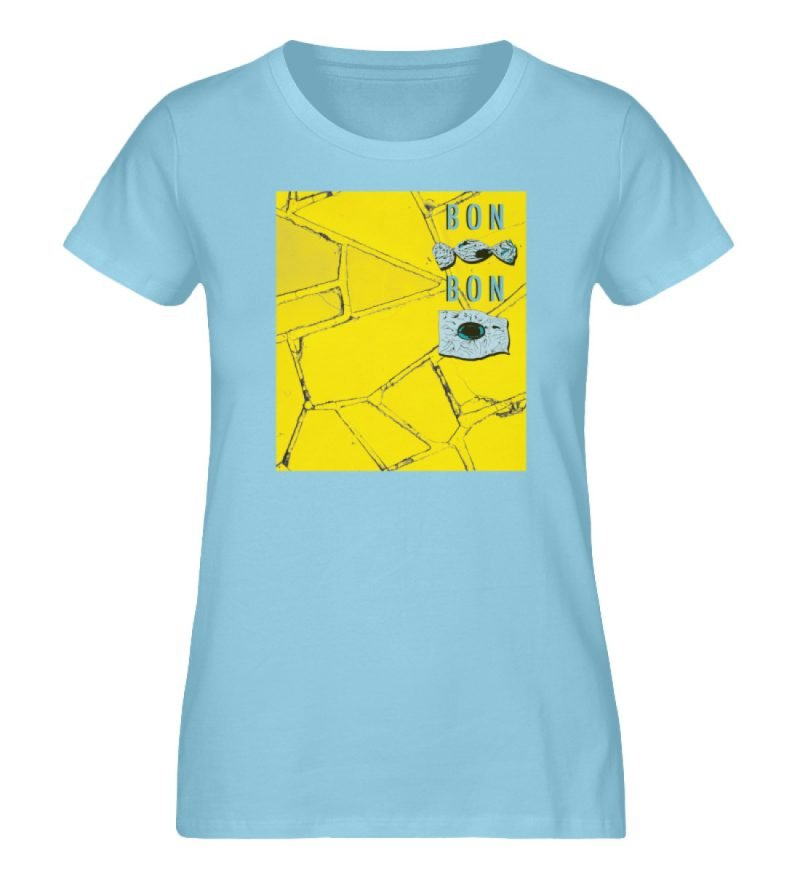 """Bon Bon"" von Lili Aschoff - Damen Premium Organic Shirt-674"