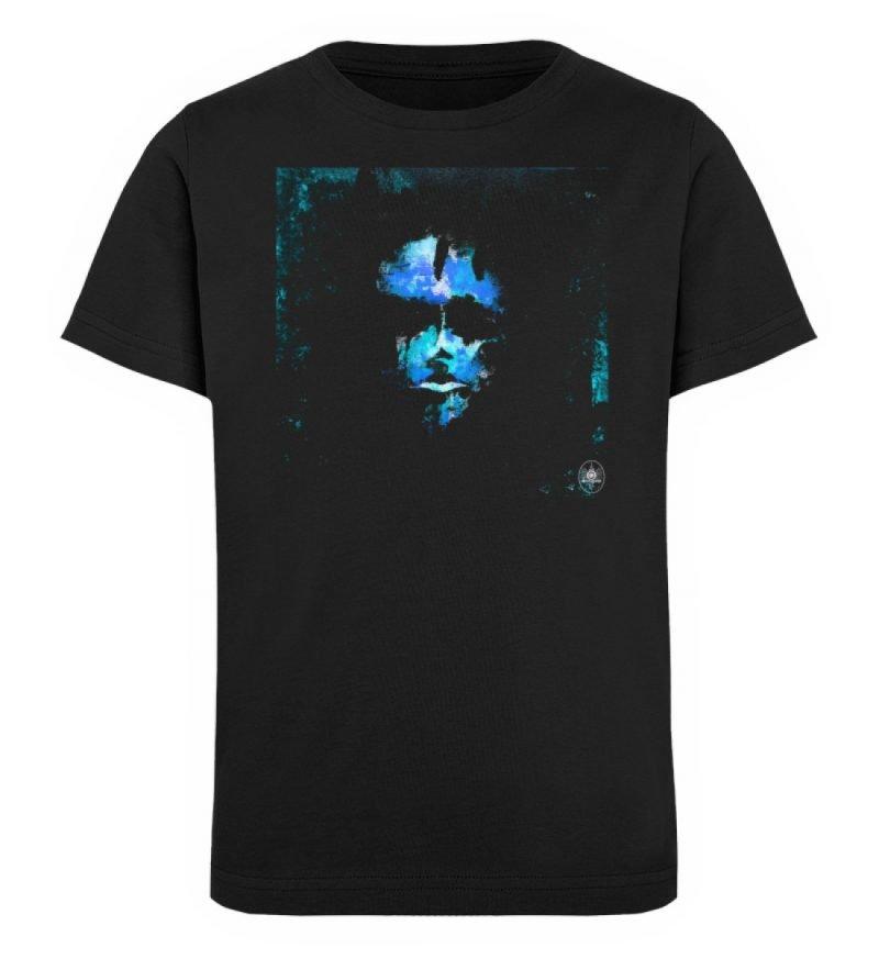 """""""Deep Blue"""" von Third Eye Collective - Kinder Organic T-Shirt-16"""