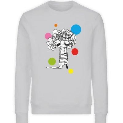 """""""Standpunkte Dream"""" von Susanne Beucher - Unisex Organic Sweatshirt-17"""
