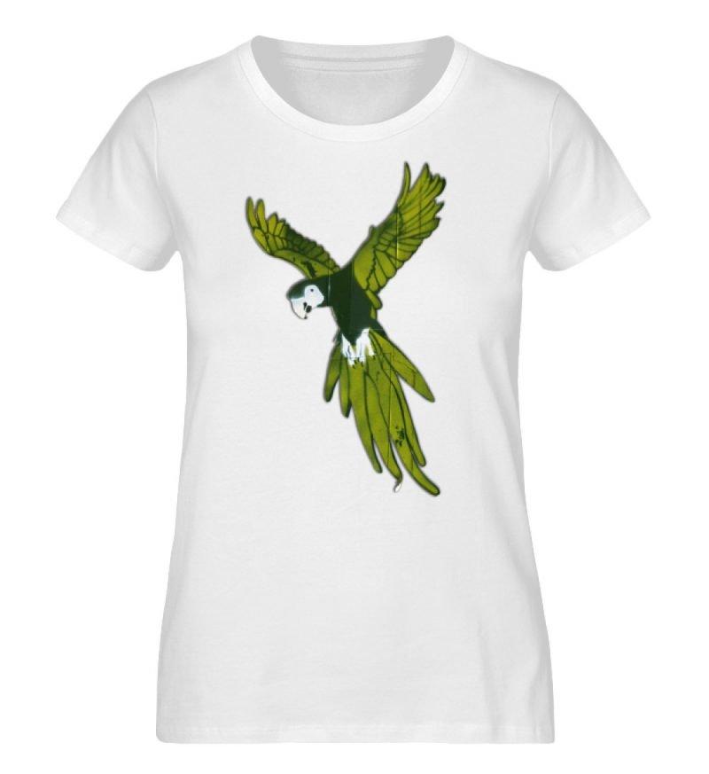 """Moment der Empörung"" von Sarah Ludes - Damen Premium Organic Shirt-3"