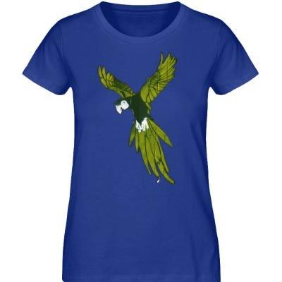 """Moment der Empörung"" von Sarah Ludes - Damen Premium Organic Shirt-668"