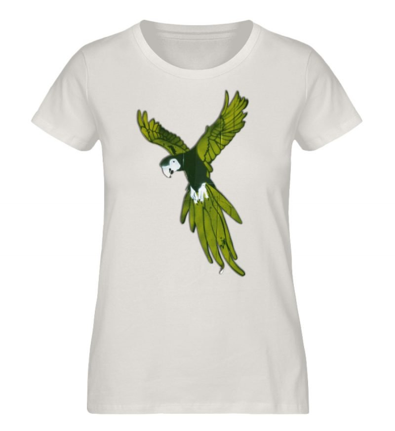 """Moment der Empörung"" von Sarah Ludes - Damen Premium Organic Shirt-6865"