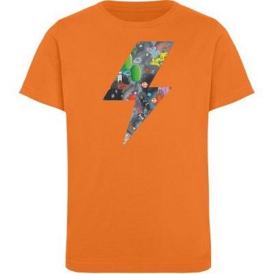 """""""We will rock you"""" von Susanne Beucher - Kinder Organic T-Shirt-6882"""