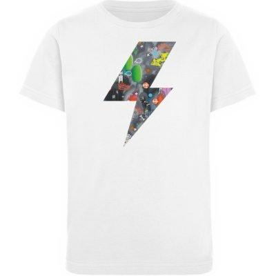 """""""We will rock you"""" von Susanne Beucher - Kinder Organic T-Shirt-3"""