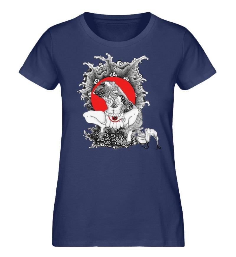 """""""Fish boy"""" von Third Eye Collective - Damen Premium Organic Shirt-6057"""